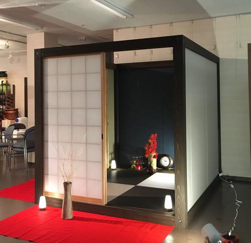 Japanese Tea House【非日常な2畳旅館でテレワークに集中。瞑想。家でオンオフ切替】在宅が増えた今こそ「家でいつでも非日常」を【組立1時間。マンションOK。工事不要