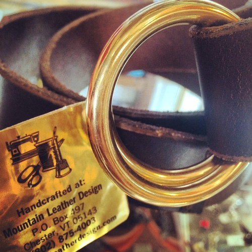 "Mountain Leather Design ""Double Ring Belt"""