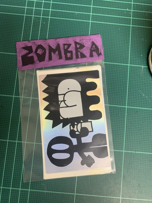 ZOMBRA stickers pack