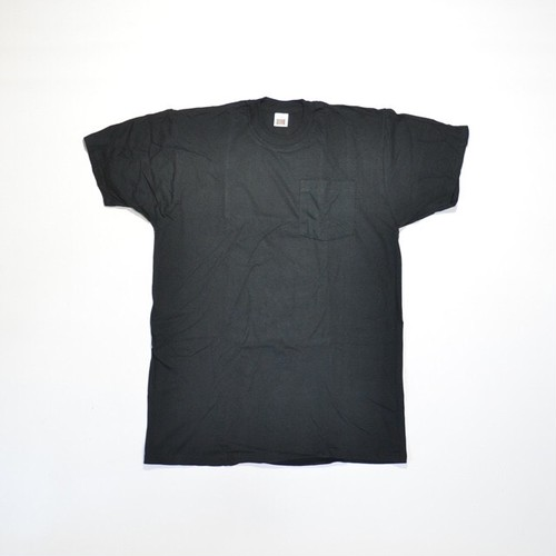 Deadstock★ 90's FRUIT OF THE LOOM ポケTEE(BLACK)XL