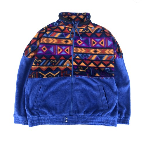 USED Fleece - royal blue