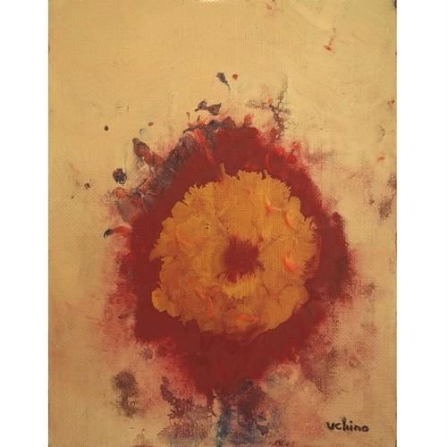 「花」 キャンバスにアクリル * 現代美術 抽象画 アート作品 絵画 内野隆文 takafumiuchino