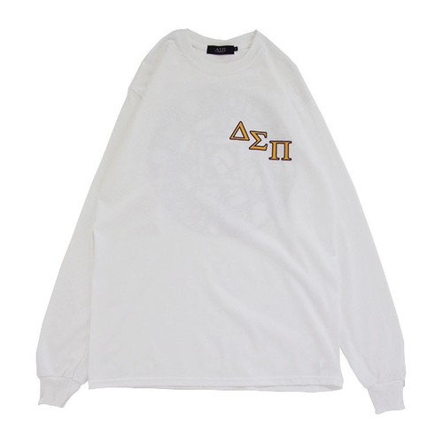 Outline Magic Circle L/S Tee (White)