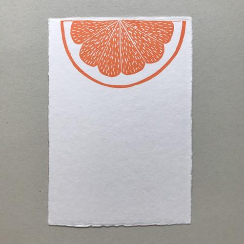 postcard (orange)