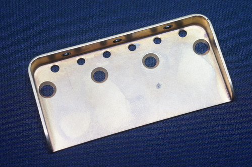 Telecaster Bridge Plate small   Brass