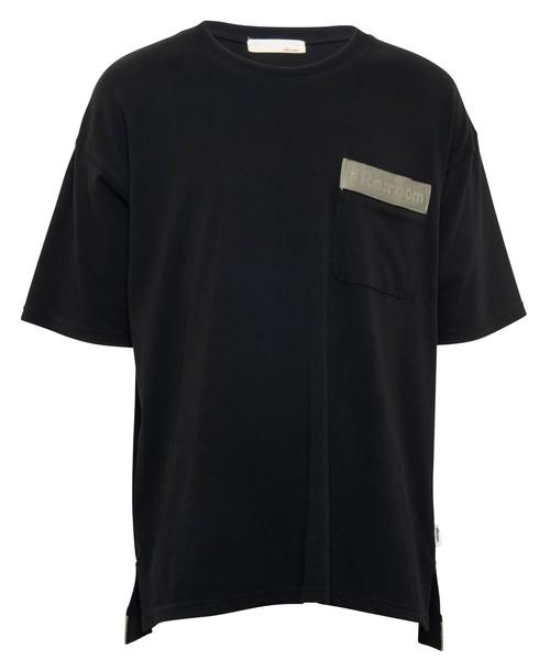 TAPE LOGO BIG T-shirt[REC407]