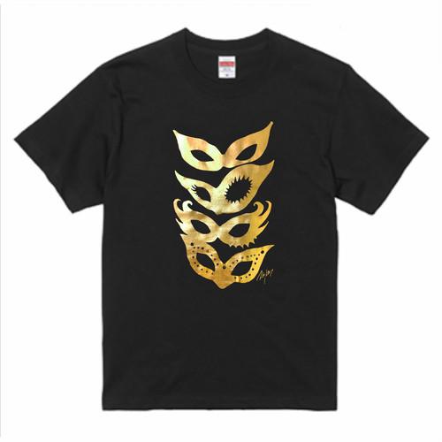【LADY'S MASKS】Gold+Black / ゴールド&ブラック