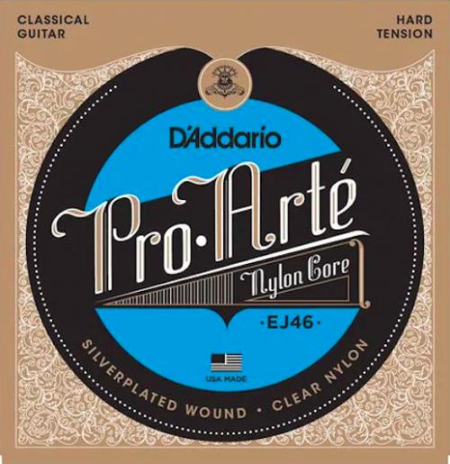 D'Addario(ダダリオ)/EJ46 クラシックギター弦 プロアルテ HARD TENSION ハードテンション