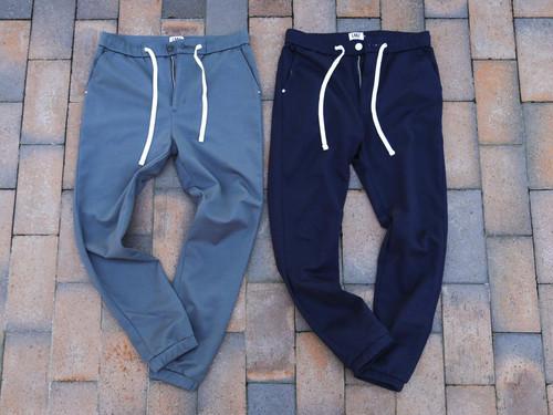 【jogger tapered sweat pants】/ dark navy