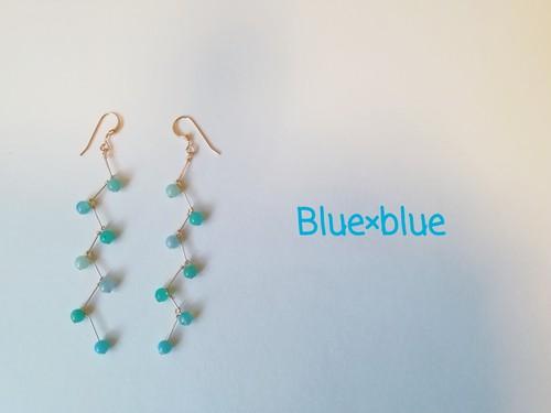 Blue×blue  jagged ピアス