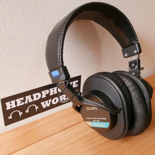 【在庫商品】MDR-7506 ケーブル着脱カスタム新品本体+オリジナルケーブル