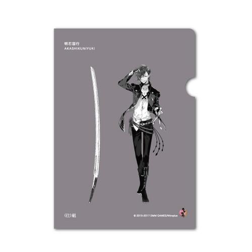 クリアファイル【明石国行】 studio仕組×刀剣乱舞-ONLINE-コラボ