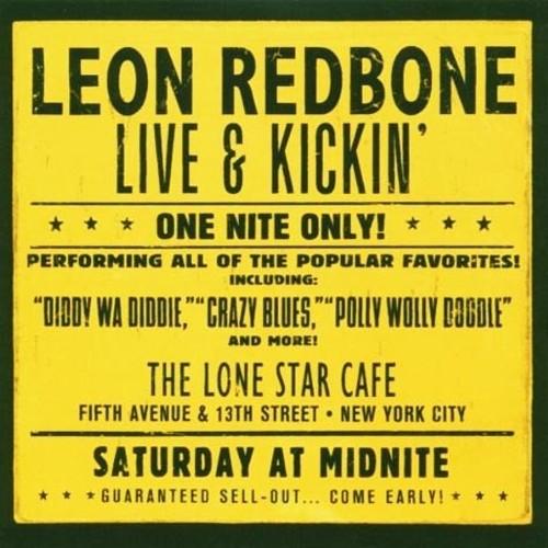 CD 「LIVE & KICKIN' / LEON REDBONE」〜1985