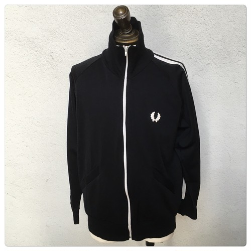 1970-1980s Fred Perry Track Top Black×White