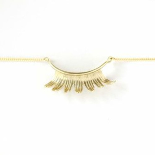 Eyelash Necklace 【Aquvii】