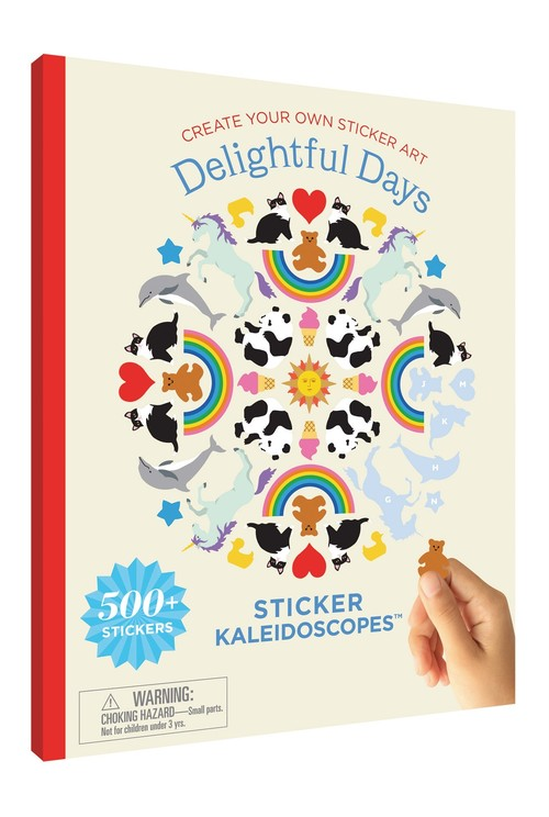 Sticker Kaleidoscopes Book / Delightful Days