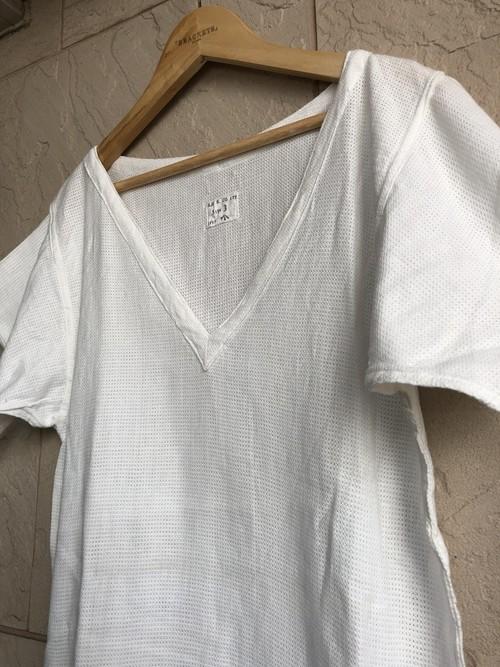 1950s British military mesh white T-shirts