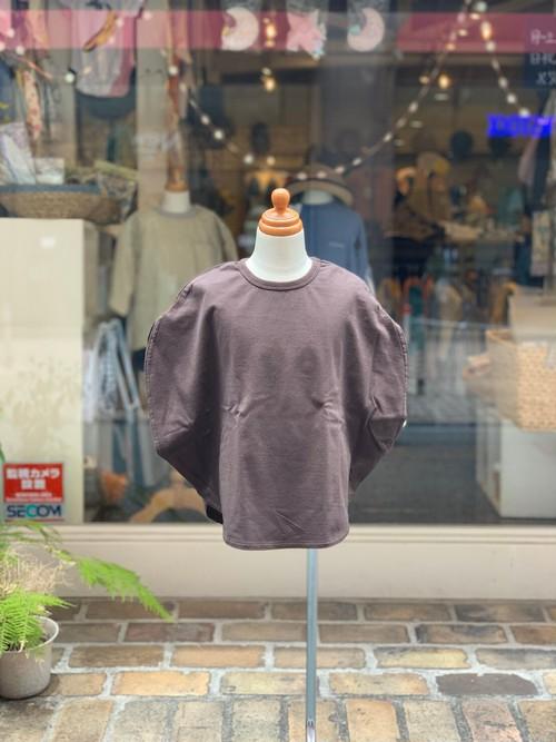 KIDS:GROOVYCOLORS【グルービーカラーズ】天竺TIME MACHINE CIRCLE TEE(ブラウン/130,140cm)サークル型Tシャツ