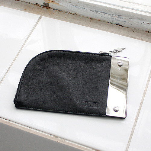 2nd Collection-PILL POUCH [ BLACK ]
