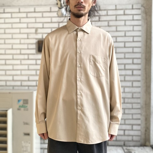 USED COTTON POLYESTER L/S SHIRTS