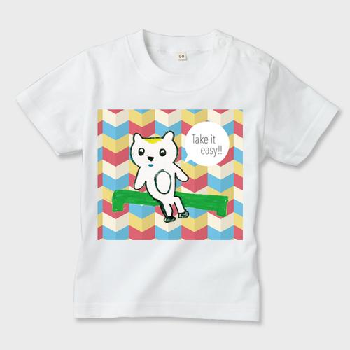 カンボジアの子供達がデザインした子供用Tシャツ