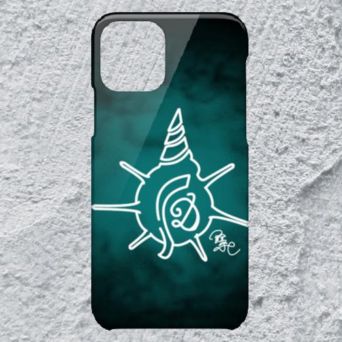 【iPhone11Pro対応】D-Logoクリアブルーハードケース