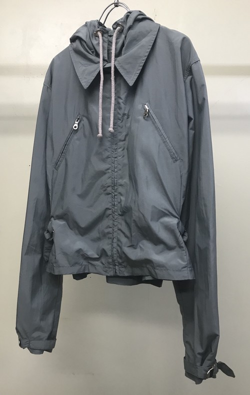 1990s EMPORIO ARMANI CROPPED HOODED JACKET