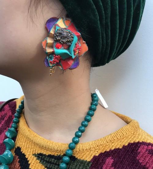 Vintage  desiner's  pierced earrings ( ヴィンテージ  デザイナーズ ピアス )