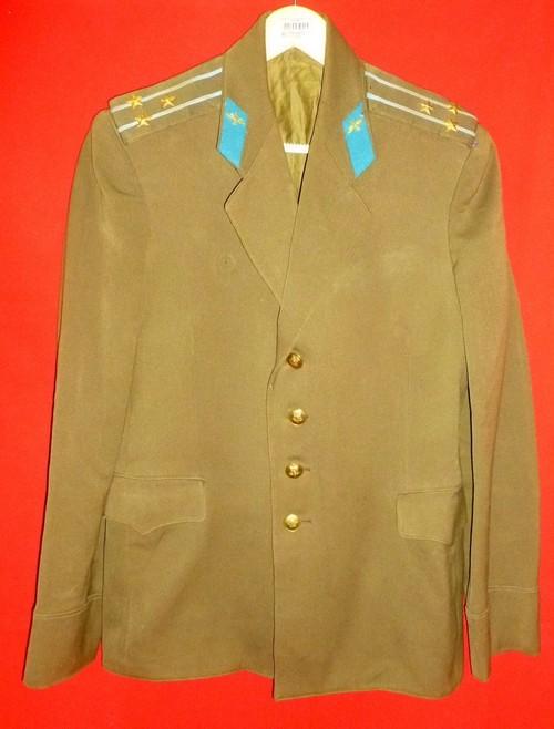 中古品実物 ソ連空軍大佐 上衣 1963年製