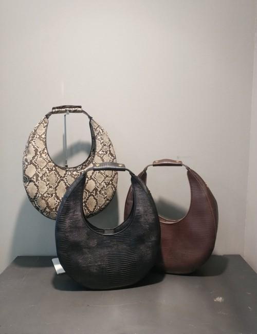 クロコダイルエッグバッグ ハンドバッグ バッグ 韓国ファッション