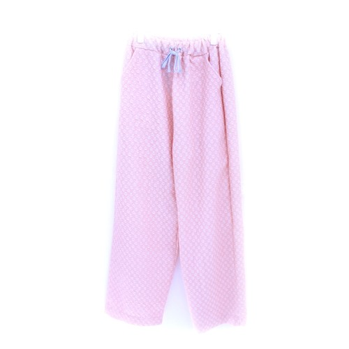 【Somewhere Nowhere】SALMON FLORAL PJ PANTS