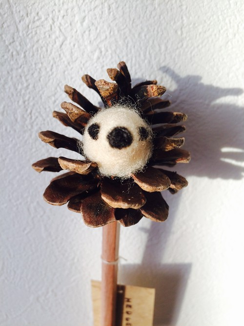 "ANIMAL PENCIL ""HEDGEHOG"""