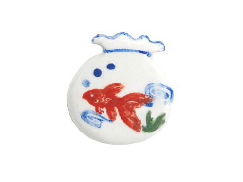 <夏>金魚鉢(水)