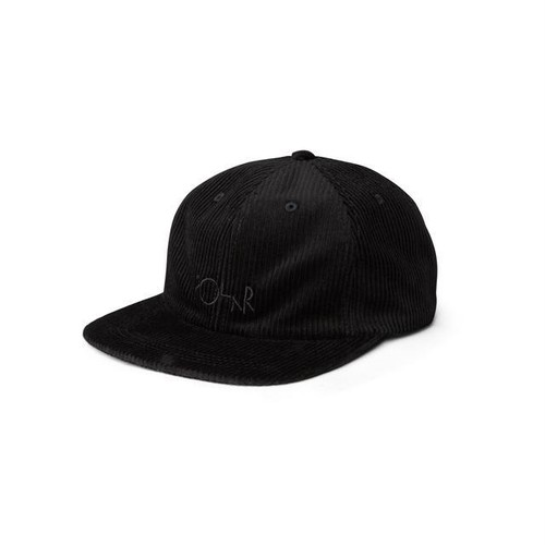 Polar skate co. Corduroy Cap Black ポーラー キャップ