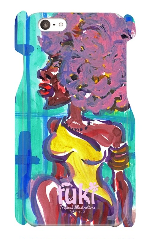 "iPhone6 ケース ""Afro doll"""