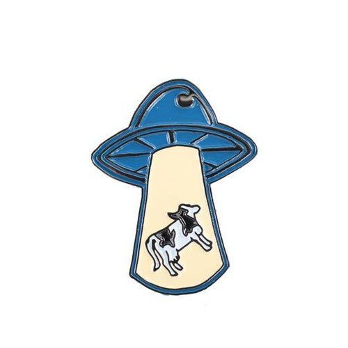 Theories Abduction Enamel Pin ピンバッチ セオリーズ