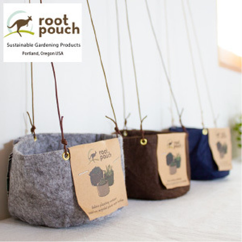 [root pouch(ルーツポーチ)]布プランター ハンギング仕様