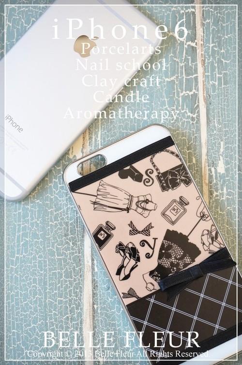 SALE2700(税別)iPhone6ケース落としても割れにくい白磁プレートケース