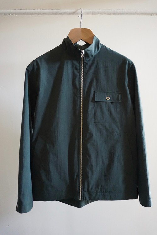 NYLON BLOUSON [DARK GREEN]