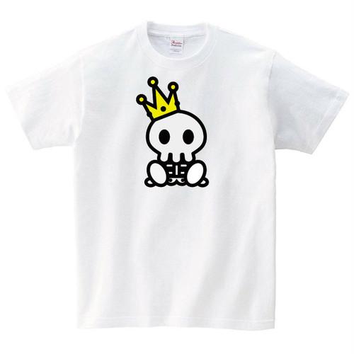 王様ドクロ Tシャツ
