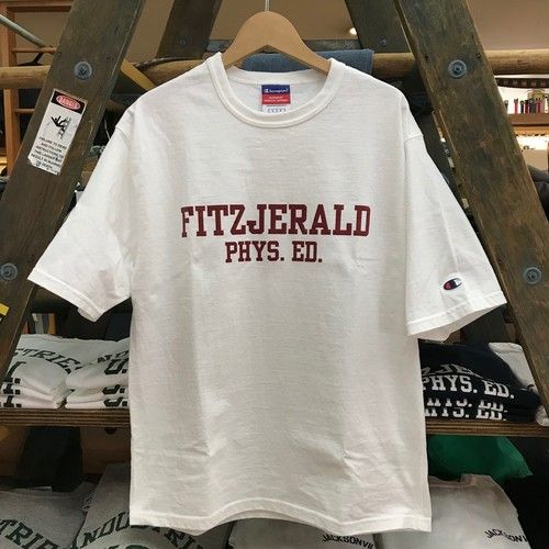 FITZJERALD Tシャツ WH×RD