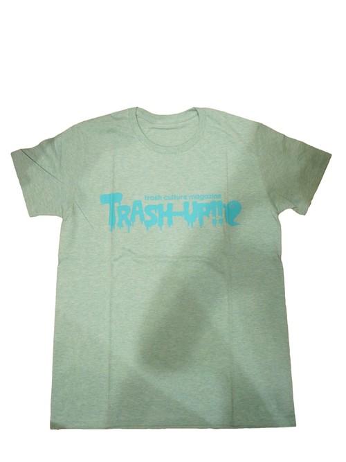 TRASH-UP!! Tシャツ メランジグリーン