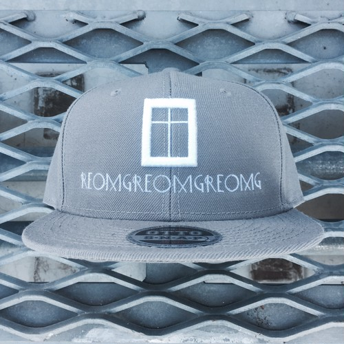 RE:OMG ORIGINAL SNAPBACK -GRAY-