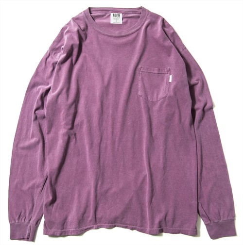 TIGHTBOOTH GARMENT DYED LONG SLEEVE AZUKI タイトブース ロングTシャツ