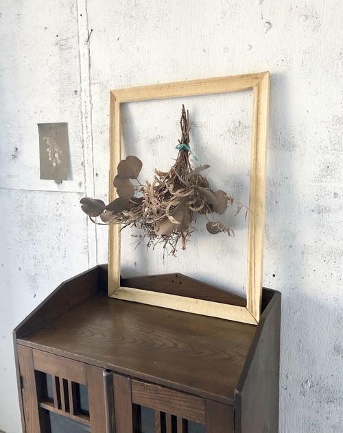 シャビーシックな木枠[古家具]