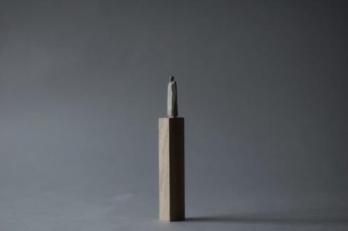 (069)wood figure-mini台付_038