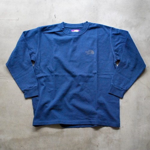THE NORTH FACE PURPLE LABEL L/S Logo Tee NAVY