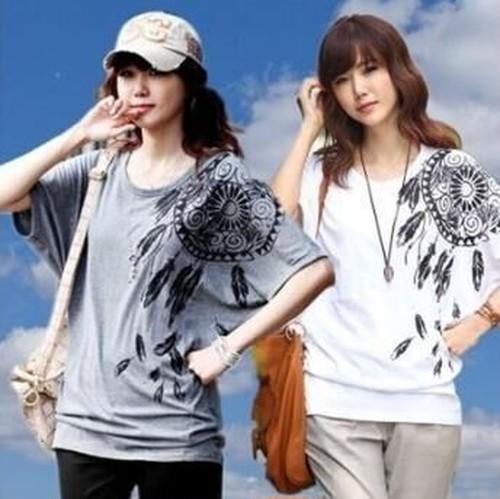 004ドルマンプリントTシャツ v-jb081-9128