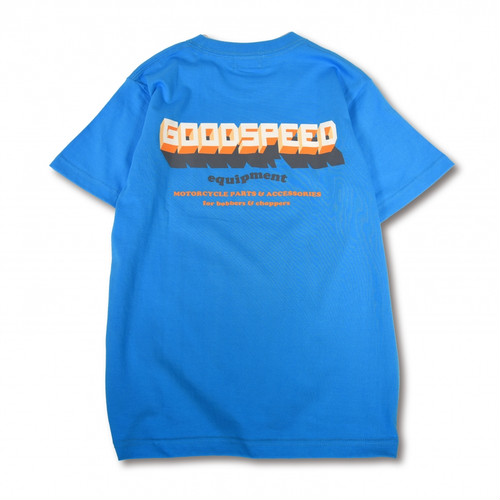 GOODSPEED equipment / 3D Logo S/S T's(turquoise)