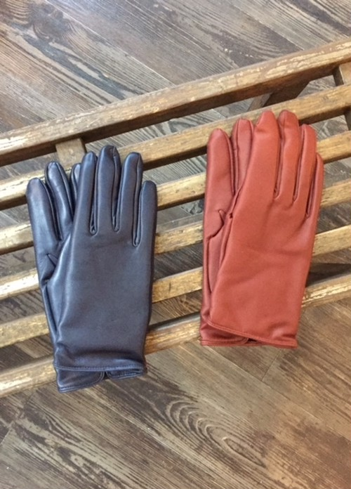 "DENTS   ""HAIR SHEEP LEATHER GLOVE with CASHMERE LINING """